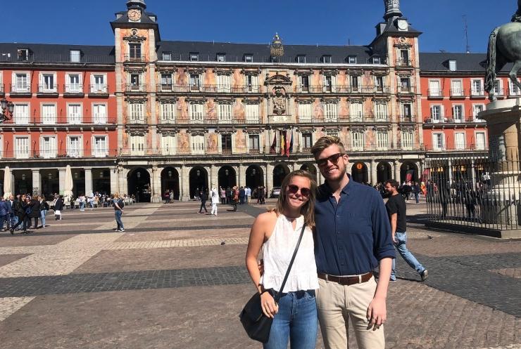 Plaza Mayor visit on Walking Tour