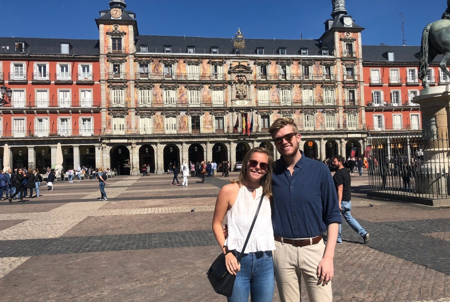 Plaza Mayor visit on Walking Tour