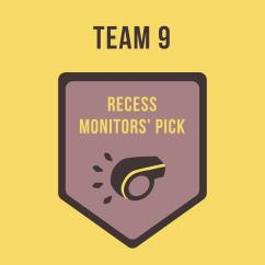 Recess Monitor's Pick